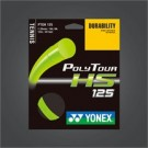 CORDAJE TENIS POLY TOUR HS 125 200m, FLASH GREEN